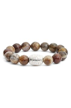 Free shipping and returns on Simon Sebbag Stretch Bracelet (Nordstrom Exclusive) at Nordstrom.com. Shiny precious metal and tactile beads trace an über-comfortable, handcrafted stretch bracelet.