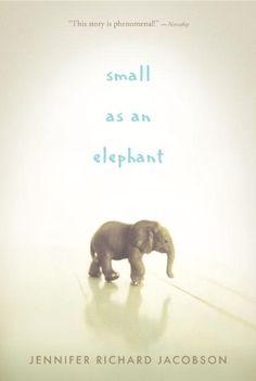 Small as an Elephant by Jennifer Richard Jacobson,http://www.amazon.com/dp/0763663336/ref=cm_sw_r_pi_dp_yUQasb1DH9PR3V2D