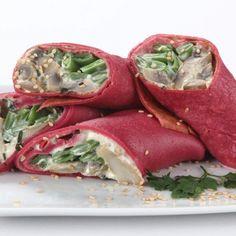 Veja esta receita de Wraps de Beterraba com Cogumelos da Nestlé. Esta e outras receitas no site Nestlé Cozinhar.