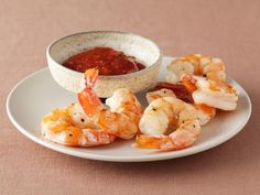 Recipe of the Day: The Barefoot Contessa's Roasted Shrimp Cocktail         Roasting shrimp in the oven until they blush pink brings out their innate sweetness for a celebratory New Years appetizer.