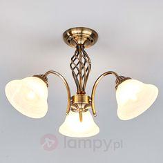 3-pkt. lampa sufitowa MIALINA, postarzany mosiądz bezpieczne & wygodne zakupy w sklepie internetowym Lampy.pl.
