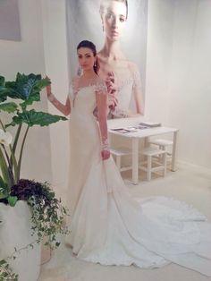 SI SPOSAITALIA Milano 2014 #AnnaTumas #Collezione #abitidasposa #weddingdress #weddingevent