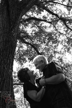 I hope when I am older I am still in love like this adorable couple is!