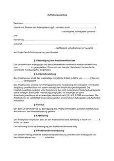 Arbeitsvertrag: kostenlose Muster Vorlagen für Arbeitsverträge aller Art » Staff.Direct Garden Leave, Free Pattern, Templates, Bunnies