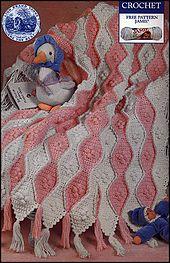 Ravelry: Wavy Baby Crochet Blanket pattern by Lion Brand Yarn