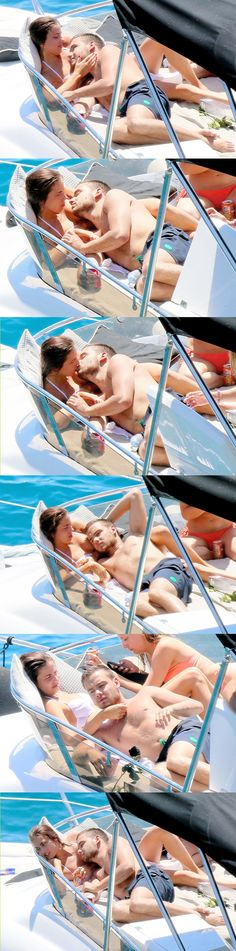Ok I really love Liam and I'm not a sophiam shipper but they really are cute together.... as long as Liam is happy I guess I am...