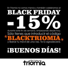 Viernes de Black Friday.