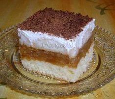 - Italské jablíčko s tvarohovým krémem Graham Crackers, Food Preparation, Amazing Cakes, Nutella, Tiramisu, Sweet Tooth, Cheesecake, Deserts, Food And Drink
