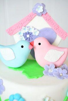 Pink Sugar: Love Birds Cake - zum Valentinstag