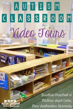 Autism Classroom Video Tours of the Baudhuin Preschool with descriptions