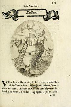 Cardiomorpheoseos sive ex corde desumpta emblemata sacra (1645)