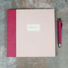 Gästebuch-Pink-Apricot