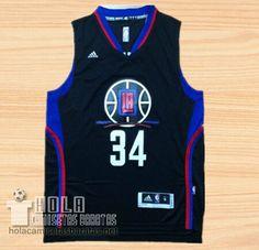 Camiseta Los Angeles Clippers Los Aficionados Edición Paul Pierce Negro  €22.9