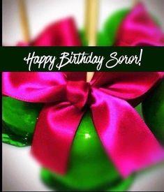 Aka Sorority, Alpha Kappa Alpha Sorority, Pink Apple, Happy Mother S Day, Girls World, Greek Life, Love Is All, Birthday Cards, Happy Birthday