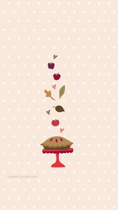 Inspired Idea: Fall Wallpapers Sweetie Pie iPhone Wallpaper from Handy Wallpaper, Fall Wallpaper, Wallpaper Backgrounds, Wallpaper Quotes, Wallpaper Ideas, Screen Wallpaper, Phone Backgrounds, Illustrations, Illustration Art