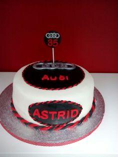 Die 7 Besten Bilder Von Audi Torte Fondant Cakes Birthday Cakes