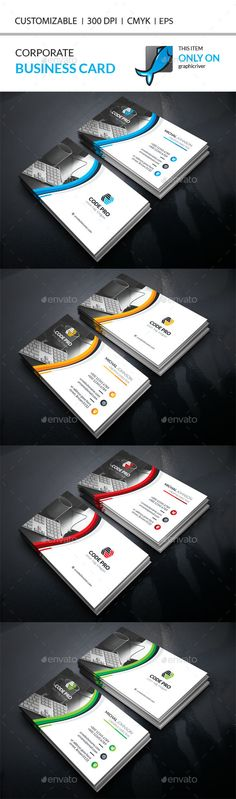 Business Card — Vector EPS #logo #id • Available here → https://graphicriver.net/item/business-card/17888841?ref=pxcr