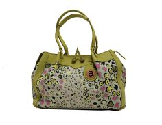 Leopard Light Savanna Lime Trim Hand Bags, Lime, Ceramics, My Love, Stuff To Buy, Accessories, Collection, Ceramica, Limes