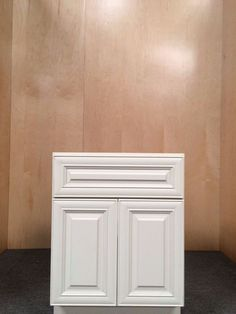"VANILLA CREME 24"" solid wood SINK BASE bathroom vanity/bathroom cabinet"