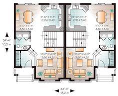 European Multi-Family Plan 65532 Level One