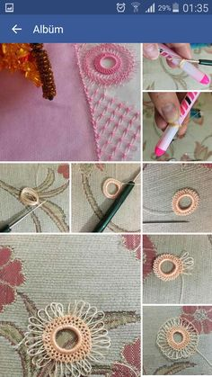 Needle Lace The moment Ifirst laid eyes on oya needlework was not as profound as one might imagine. Hairpin Lace Crochet, Crochet Doilies, Crochet Flowers, Crochet Stitches, Needle Tatting, Tatting Lace, Needle Lace, Tatting Patterns, Lace Patterns