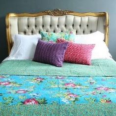 Like the bedspread and pillow