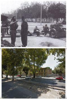 Paracadutisti Tedeschi in Roma Via Ostiense,Battaglia di Roma 8 - 10 #Settembre1943