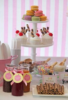 love this ice cream party idea