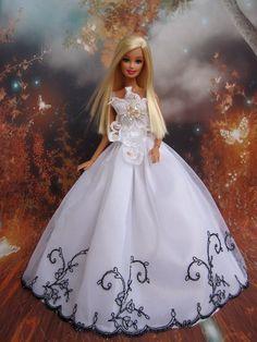 Barbie White Wedding Dress