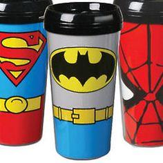 Batman Superhero Travel Mug