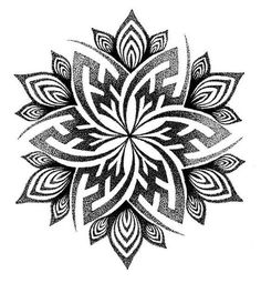 Tattoo Ideas Female Discover Mandala Handpoke Tattoo Design - C A Wills by Chris-Anthony-Wills on deviantART Mandala Tattoo Design, Dotwork Tattoo Mandala, Design Tattoo, Tattoo Designs, Tattoo Ideas, Henna Designs, Geometric Mandala Tattoo, Henna Mandala, Body Art Tattoos