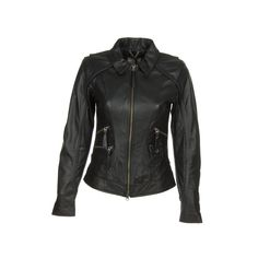 Marni Peplum Leather Jacket ($1,889) ❤ liked on Polyvore ...