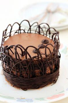 Chocolate Bavarian Cake