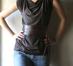 Fashion Leather belts are my new favorite things!