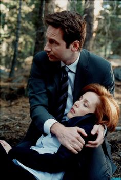 Pin for Later: 27 Sexy Pictures of The X-Files' Fox Mulder That Will Have You Seeking the Truth  Ugh, nothing better than when he rushes to Scully's side.