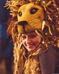 Beautiful Luna! She is a true Gryffindor (even though she is a Ravenclaw)!
