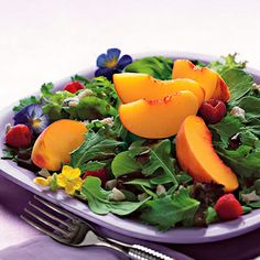 Fresh fruit in a salad? Yes, please! What's your favorite salad ingredient?