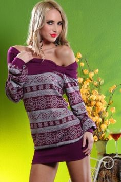 adorable winter sweater!!  I love a lot of the clothes at amiclubwear!  (really inexpensive, too)
