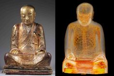 Scientists found something strange inside of an ancient Buddha statue — the mummified remains of a monk. The statue was subjected to CT scans in December at ...