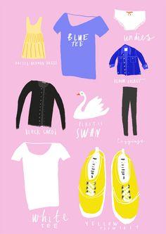 fashion editorials, nina cosford