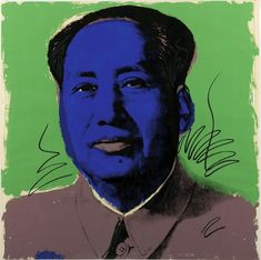 Mao 90 by Andy Warhol. Warhol's interpretation of Mao resulted here in the creation of a portfolio containing ten brightly colored, monumental portraits. Andy Warhol Pop Art, Pittsburgh, Art Pop, Art Challenge, New York City, Pop Art Artists, Kunst Online, Museum, Portraits
