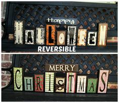 Hey, I found this really awesome Etsy listing at http://www.etsy.com/listing/161116622/reversible-happy-halloween-reverses-with