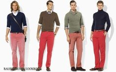 Ok so now Im stuck with red pants from Tommy hillfiger. Now wondering how to pull it off. Ladies on pinterest!!!HELP!!!!