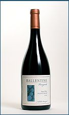 Another new fave!  Killer CA Petite Sirah, going on by-the-glass tonight. #getyousome
