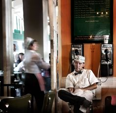 Cafe du Monde, by Matt Hoyle (just don't wear a black/dark shirt and expect to keep it clean)