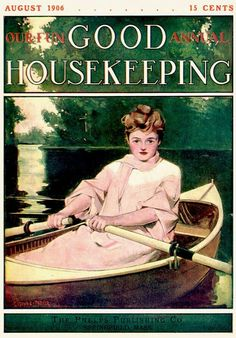 Vintage Merchandise & Memorabilia 1906 Feb Good Housekeeping Magazine Advertisements Antique 90