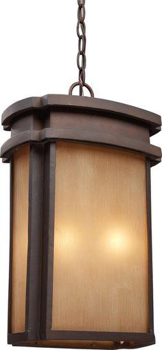 View the ELK Lighting 42143/2 Sedona 2 Light Full Sized Outdoor Pendant at LightingDirect.com.