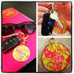@XOLillyRep New Chi O @Lilly Pulitzer gift-with-purchase keychain! #LillyLovesGreek #ChiOmega