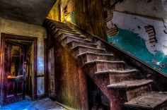 Do not, go up those stairs! by David Gardiner