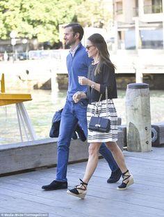 Pippa Middleton et James Matthews à Sydney pour leur lune de miel #dailymail